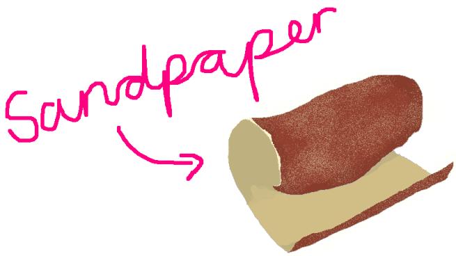 depressiondarling-sandpaper