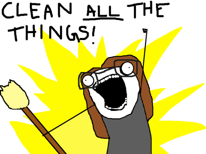 cleanallthethings